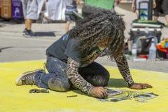 See-Wert, Florida, USA tolles 23-24, 25. jährlicher Malerei Fest der Straßen-2019 lizenzfreie stockfotos