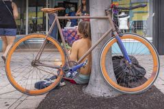 See-Wert, Florida, USA tolles 23-24, 25. jährliches Malerei-Festival der Straßen-2019 lizenzfreies stockfoto