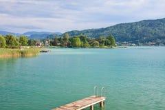 See-Wert, Kärnten. Österreich Stockfoto