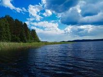 See Yanisyarve in Karelien Russland stockbilder