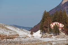 Seealpsee, Apenzell Alps, Apenzell, Szwajcaria zdjęcie stock