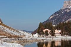 Seealpsee, Apenzell Alps, Apenzell, Szwajcaria obrazy royalty free
