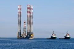 Seeanhänger in adriatischem Meer Stockfotos
