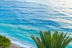Seeansicht in adriatischer Küstenregion in Dalmatien, Kroatien Lizenzfreies Stockbild