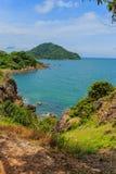 Seeansicht Blick von Standpunkt Noen Nangphaya Stockbilder
