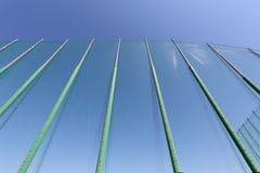 Seeansicht durch das Netz Stockbild