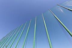 Seeansicht durch das Netz Stockbilder