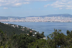 Seeansicht in Sommer, die Türkei Stockfoto