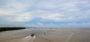 Seeansicht in Thailand Stockbilder