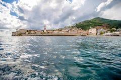 Seeansicht von der alten Festung Stockfotos