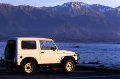 Seeansicht von Südinsel, Neuseeland Stockfotos