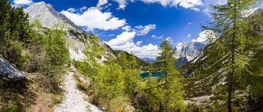 Seebensea in Tirol Fotografia Stock Libera da Diritti