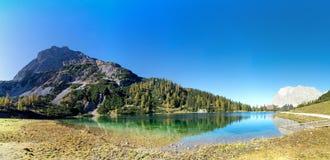 Seebensee lake near Ehrwald, Tirol, Austria royalty free stock image