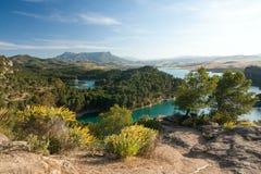 Seebezirk Andalusien Stockfotografie