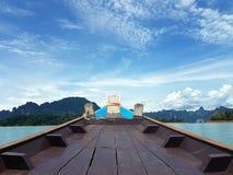 Seebootshimmel Stockbild