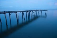 Seebrücke Stockbild