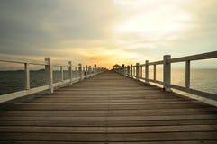 Seebrücke Lizenzfreie Stockbilder