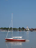 Seebruck, lake Chiemsee Royalty Free Stock Photography