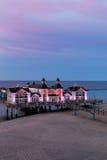 Seebruecke Sellin sur l'île de Ruegen, Mecklenburg-Vorpommern, Allemagne photo libre de droits