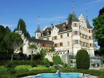 Seeburg Castle in Kreuzlingen. Canton of Thurgau, Switzerland stock images
