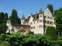 Seeburg-Schloss in Kreuzlingen lizenzfreie stockfotos