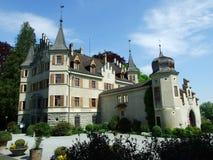 Seeburg-Schloss in Kreuzlingen stockbilder