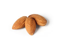 Seed of almonds nuts Stock Photo