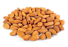 Seed of almonds nuts Stock Image