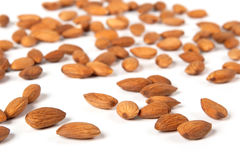 Seed of almonds nuts Royalty Free Stock Photography