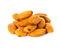 Seed of almonds nuts royalty free stock images