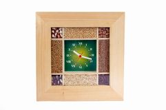 Seed clock Stock Photography