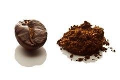 Seed of coffee Stock Photo