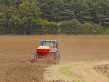 Seed drill Royalty Free Stock Images
