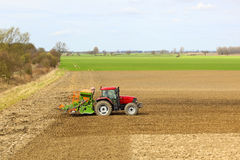Seed drill Royalty Free Stock Photos