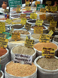 Seed Market In Eminonu, Istanbul Stock Photography