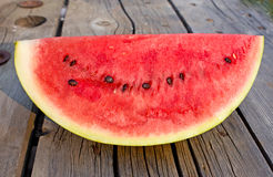 Seed Watermelon On Vintage Wood Royalty Free Stock Images