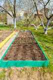 Seedbed on the Household plot Stock Image