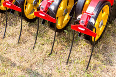 Seedbed machinery Royalty Free Stock Images