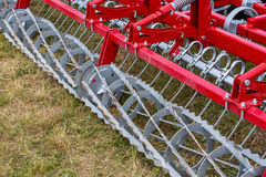 Seedbed machinery Royalty Free Stock Photos