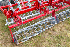 Seedbed machinery Stock Photo