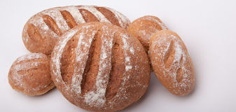 Seeded сказало хлебец по буквам с медом Стоковая Фотография