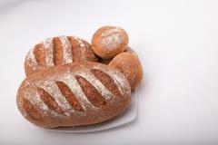 Seeded сказало хлебец по буквам с медом Стоковая Фотография RF