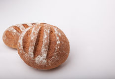 Seeded сказало хлебцы по буквам с медом Стоковое Изображение