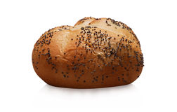 Seeded bread loaf royalty free stock image