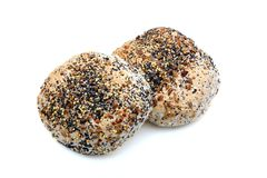 Seeded bread rolls Royalty Free Stock Photo