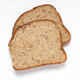 Seeded bread slices Stock Photo