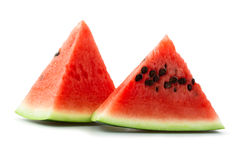 Seeded watermelon Royalty Free Stock Photos
