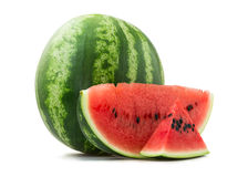 Seeded watermelon Royalty Free Stock Image