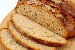 Seeded Wholemeal bread. Stock Image