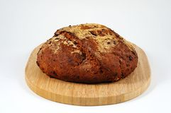Seeded wholemeal loaf. Stock Photos
